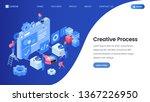 creative process landing page...