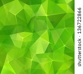 Abstract Geometry Green...