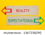Reality Vs Expectations Words...
