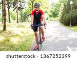 a men are cycling road bike in...   Shutterstock . vector #1367252399