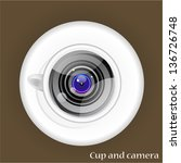 Cup And Camera