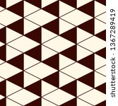 contemporary geometric pattern. ... | Shutterstock .eps vector #1367289419