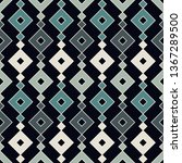 ethnic  tribal seamless surface ... | Shutterstock .eps vector #1367289500
