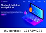 cryptocurrency isometric... | Shutterstock .eps vector #1367294276