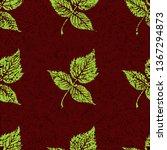 vector seamless textured grunge ...   Shutterstock .eps vector #1367294873