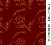vector seamless textured grunge ...   Shutterstock .eps vector #1367294876