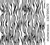 zebra stripes seamless pattern. ... | Shutterstock .eps vector #1367304170