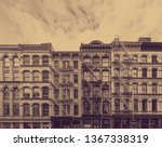 Old Historic Buildings In The...