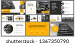 yellow  white and black... | Shutterstock .eps vector #1367350790