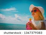 sun protection   happy little... | Shutterstock . vector #1367379383