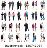"collection ""back view of... 