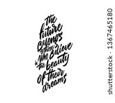 new year quote. hand drawn... | Shutterstock .eps vector #1367465180