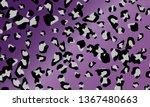 leopard print design. animal...   Shutterstock .eps vector #1367480663