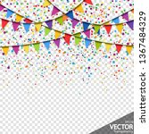illustration of colored... | Shutterstock .eps vector #1367484329