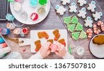 flat lay. step by step.... | Shutterstock . vector #1367507810