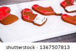 step by step. decorating... | Shutterstock . vector #1367507813