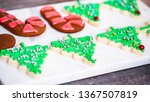 step by step. decorating... | Shutterstock . vector #1367507819