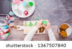 flat lay. step by step.... | Shutterstock . vector #1367507840