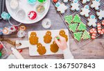 flat lay. step by step.... | Shutterstock . vector #1367507843