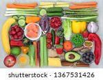 super food concept for healthy...   Shutterstock . vector #1367531426