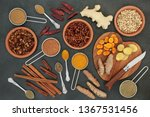 fat busting spices for losing...   Shutterstock . vector #1367531456