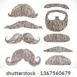 big set of retro and classic... | Shutterstock .eps vector #1367560679