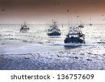 Tired Fishing Fleet Getting...