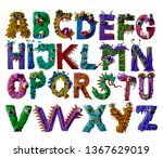 Funny Monsters Alphabet...