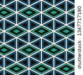 ethnic  tribal seamless surface ... | Shutterstock .eps vector #1367717180