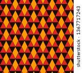 ethnic  tribal seamless surface ... | Shutterstock .eps vector #1367717243