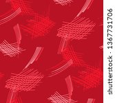 various pen hatches. seamless... | Shutterstock .eps vector #1367731706