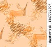 various pencil hatches.... | Shutterstock .eps vector #1367731709