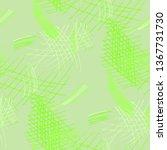 various pen hatches. seamless... | Shutterstock .eps vector #1367731730