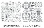 big collection of vector... | Shutterstock .eps vector #1367741243
