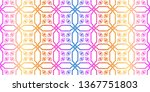 unique  abstract geometric... | Shutterstock .eps vector #1367751803
