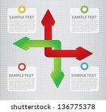 communication concept  ... | Shutterstock .eps vector #136775378