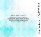 light blue vector background. ... | Shutterstock .eps vector #1367789810