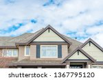 the top of the house or... | Shutterstock . vector #1367795120