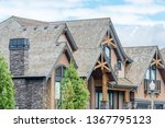 the top of the house or... | Shutterstock . vector #1367795123
