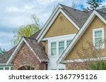 the top of the house or... | Shutterstock . vector #1367795126