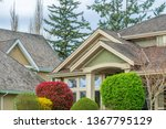 the top of the house or... | Shutterstock . vector #1367795129