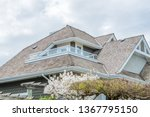 the top of the house or... | Shutterstock . vector #1367795150