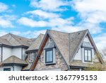 the top of the house or... | Shutterstock . vector #1367795153