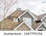 the top of the house or... | Shutterstock . vector #1367795156