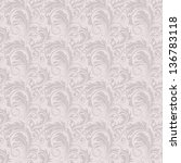 seamless floral pattern | Shutterstock .eps vector #136783118