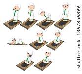 a group of procedures of... | Shutterstock .eps vector #1367856899
