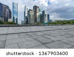 panoramic skyline and buildings ... | Shutterstock . vector #1367903600
