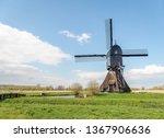 the noordeveldse windmill in... | Shutterstock . vector #1367906636