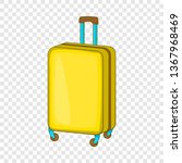 suitcase on wheels icon in... | Shutterstock .eps vector #1367968469