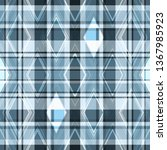 seamless geometric pattern with ... | Shutterstock .eps vector #1367985923